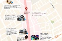 韓国地図、ソウル地図 (日本語)